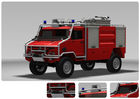 Emergency Fire Engine Vehicle For Fire Rescue 115km/H Highest Speed