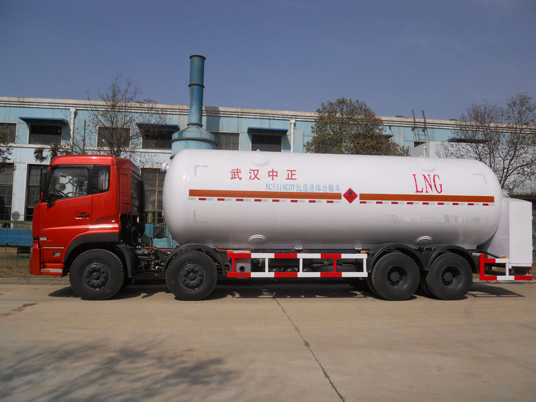Hydraulic Control Transport Semi Trailer For Liquid Natural Gas